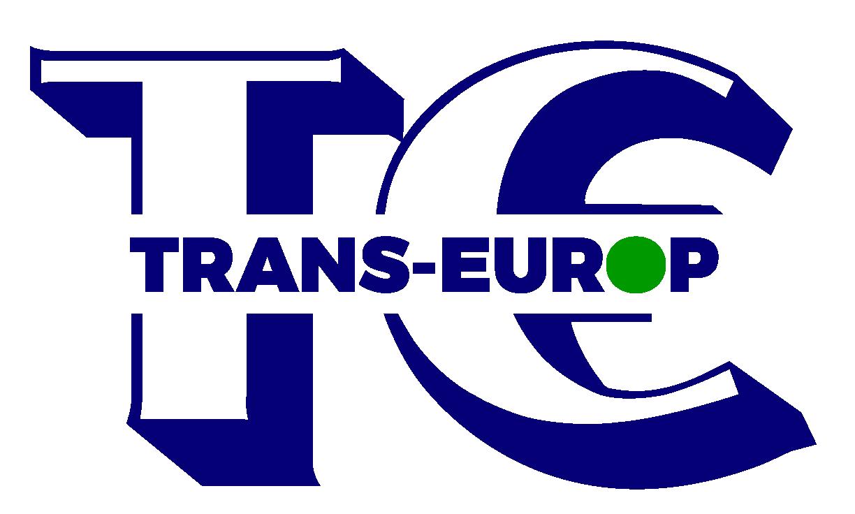 Trans Europ logo blauw met groen