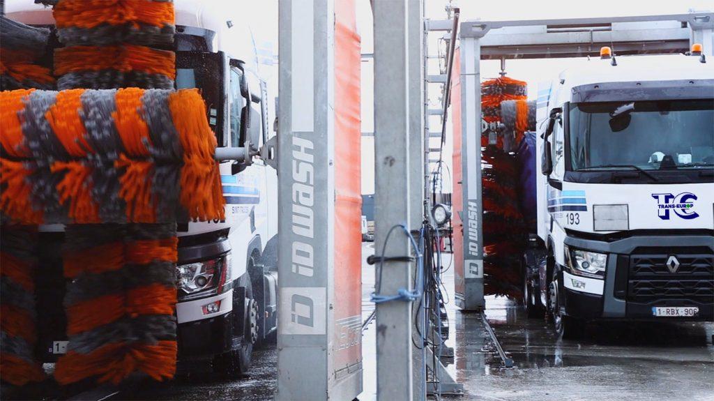 duurzame truckwash